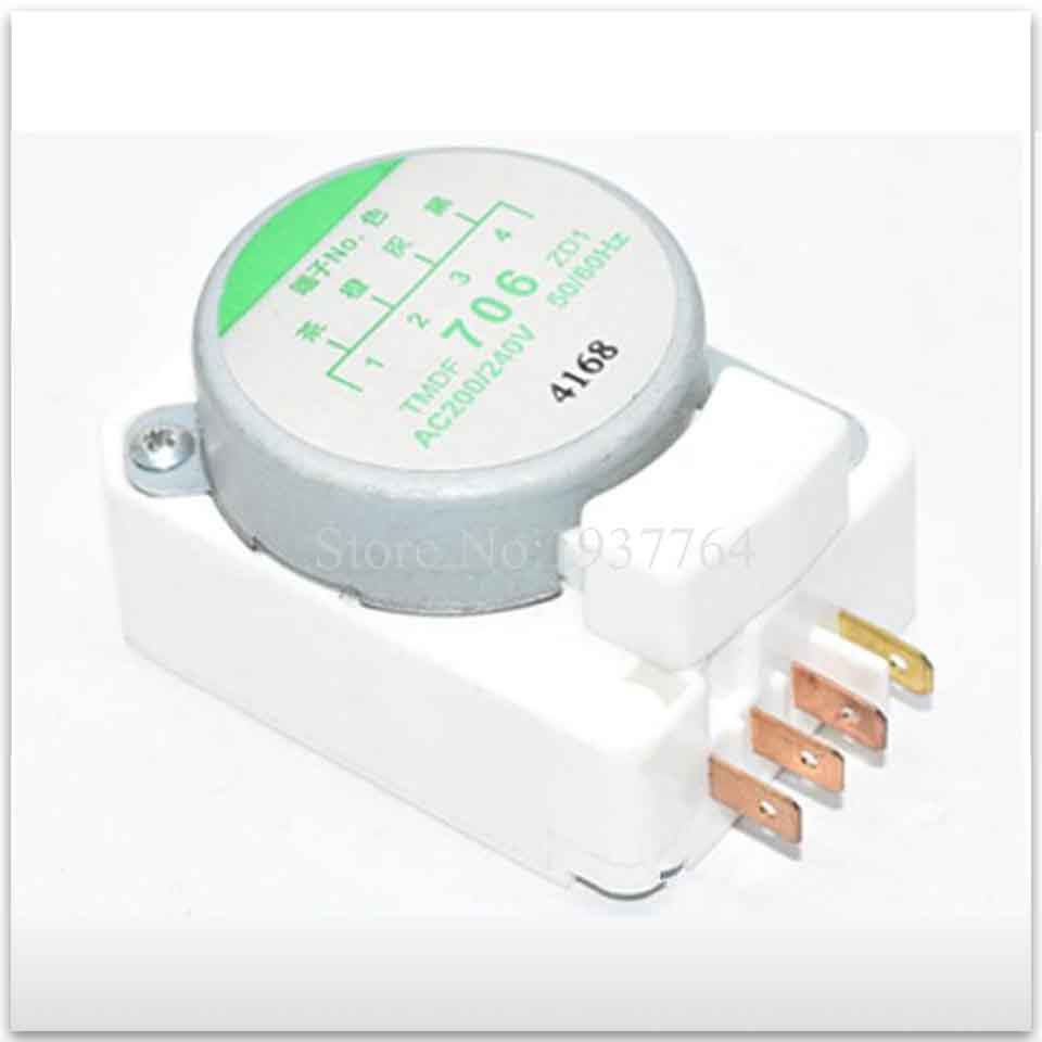 new good working High-quality for refrigerator Parts TMDF706CD1 refrigerator defrosting timer refrigerator parts fridge defrost timer 57 33mm tmdf 702zd1