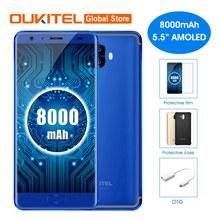 "Oukitel K8000 5.5""HD AMOELD LCD MTK6750T 4G RAM 64G ROM Octa Core Dual Rear Cameras 8000mAh Fast Charge Fingerprint Smartphone"