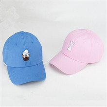 Fashion gorras hombre cotton soft sister rabbits hat casual hat snapback baseball cap spring female trucker