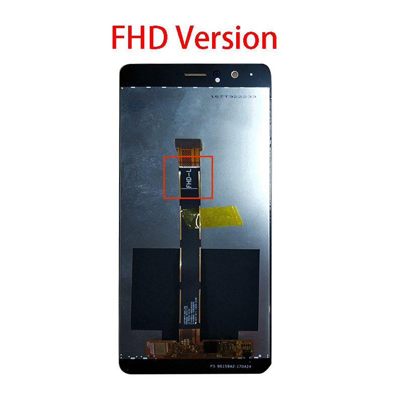 Image 3 - For Huawei Honor V8 KNT AL20 KNT UL10 KNT AL10 KNT TL00 KNT TL10  LCD Display   Touch Screen Digitizer Assembly ReplacementMobile Phone  LCD Screens
