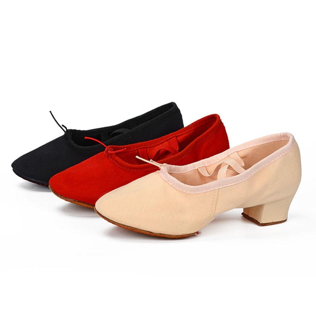 De Valse En Salsa Chaussures red Fermé Sagace Femmes Orteil Tango Bal Nouveau Intérieur Satin Beige black 2019 Talons 30 Salle Moderne Danse pu Partie EPpCqp8