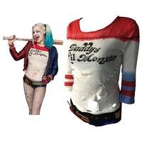 Batman Arkham Asylum City 2016 Suicide Squad Harley Quinn Costume T Shirt Daddy S Lil Monster