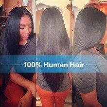 Charming 7A Brazilian Virgin Hair Straight Hair 2 Pcs Weft With 4*4 Silk Base Closure Straight Hair Bundles With Closure