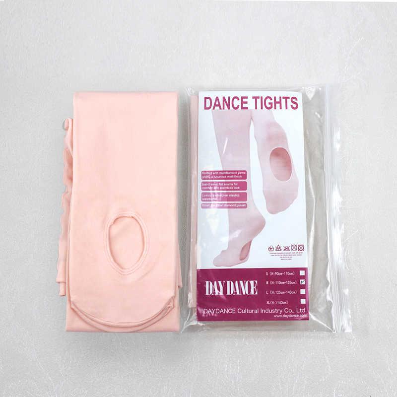 חדש הגעה מקצועי ילדים ילדי בנות רך מיקרופייבר להמרה בלט ריקוד גרביונים
