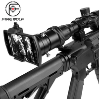 Fire Wolf Smartphone Mounting System Hunting Riflescope Shoot Mount Adapter for Gun Scope Airgun Scope Display Magnification