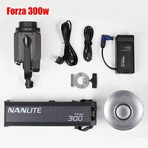 Image 4 - Nanguang Nanlite Forza 300W Led Fotografische Verlichting Vullen Licht Spotlight 5600K 2.4G Draadloze App Wifi Controle Forza300