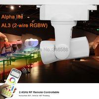 Mi.Light Alpha lite AL3 25W 2-wire RGB+Cool White RGB+Warm White 99Group LED Auto Rail Track Light + 2.4G Wireless FUT090 Remote