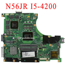 For N56JR N56JK laptop motherboard I5-4200 Processor Onboard CPU GT760M 2G mainboard 100% tested free shipping