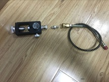 High Pressure 530mm 63Mpa PCP Pump Hose With 8mm SS 304 Female Quick Connector+Valve+Connector