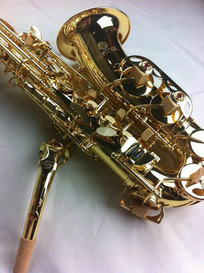 Taiwan Brand Instrument Jupiter JAS-567 Brass Tube Gold Lacquer Alto Saxophone Eb Tune Pearl Decorative Buttons Saxofone hot brand new gold lacquer eb alto trombone student horn nice tone instrumentos musicais profissionaltuba brass