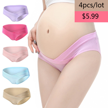 5pcs/set Plus Size XXL Panties for women Breathable Pregnant Underwear Low-waist Women Panties Maternity Soft Cotton Intimate