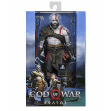 New NECA 2018 God of War 4 Kratos Figura PVC Action Figure Collectible Model Toy horror movie toys the crow brandon lee eric draven vs top dollar neca action figure pvc collectible model toy