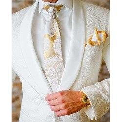 Горячая Распродажа, 9 цветов, мужские свадебные костюмы, 2020, приталенный смокинг жениха, смокинг, Блейзер, костюмы для мужчин, 2 предмета (пидж...