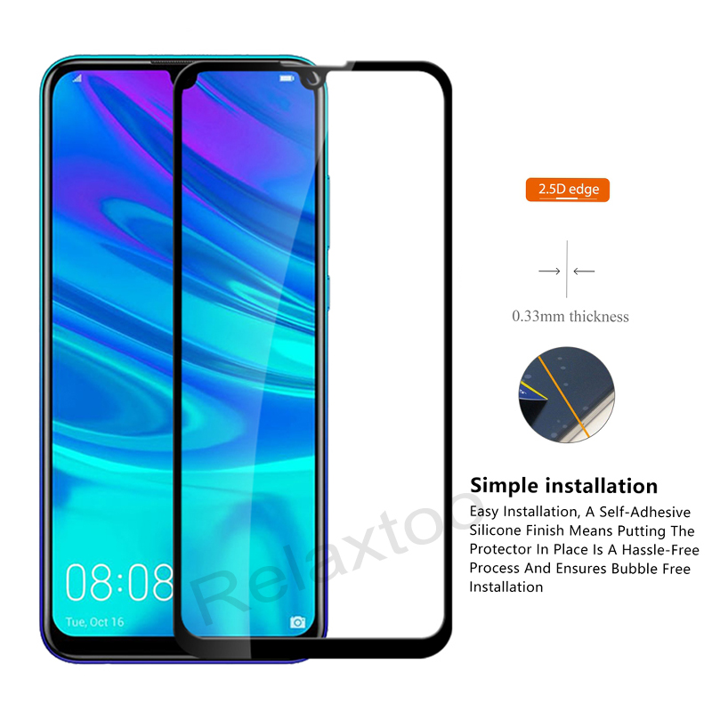 Image 4 - Tempered Glass For Huawei P smart 2019 Glass Screen Protector on For Huawei P smart 2019 Psmart Z P smart Z Protective glas Film-in Phone Screen Protectors from Cellphones & Telecommunications
