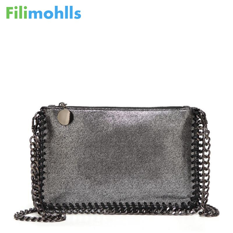 2018 Fashion Woven Chain Bag Shoulder Bag for Women Clutches PU Messenger Bag Small Clutch purse Bolsa Handbags wallet S1227 цена