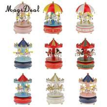 MagiDeal Träumen Karussell Musik Box Kinder Handkurbel Musical Spielzeug Hause Dekoration Geburtstag Geschenk für Gilrs Jungen