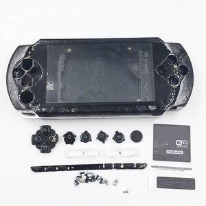 Image 5 - 9 kolory opcjonalnie obudowa Shell skrzynki pokrywa wymiana dla PSP1000 PSP 1000 konsola do gier do naprawy części