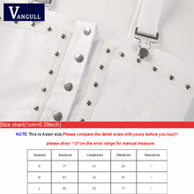 Vangull Rivet Cropped Top Women Chemise Sexy Short Tops 2019 New Summer Camisole Blouse Women Punk Tank Top Back Punk Bodycon Bra