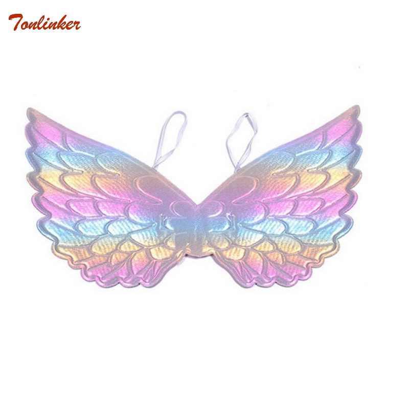 Unicorn Costume Gold Unicorn Wings For Kids Girl Princess Fairy
