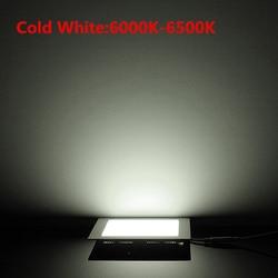 New square led panel light new 2017 lamps ac85 265v led downlight 3w 4w 6w 9w 12w 15w 25w painel de led lights
