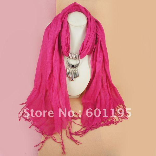 Wholesale price! 12pcs/lot mix colors and designs ,necklace Pendant Scarf ,Fashion women Scarves,shawl