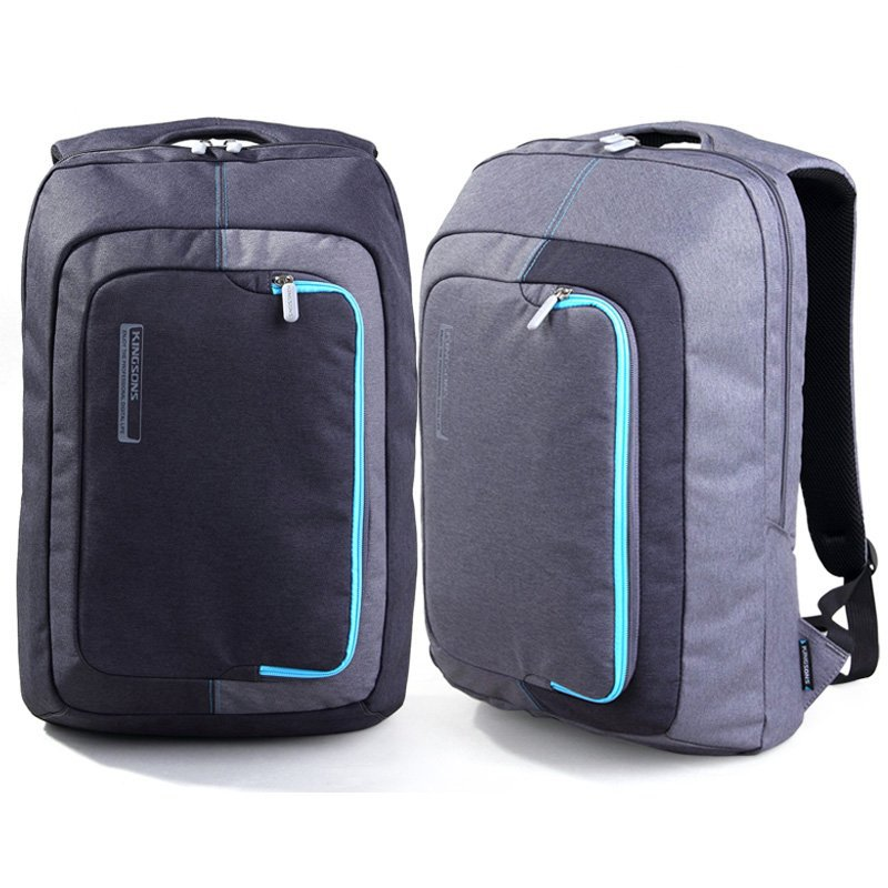 Kingsons frosted 600D waterproof material business 15.6 inch Laptop Bag shoulder computer bag student bag free shipping outdoor sports double shoulder bag student bag computer bag waterproof pack free shipping
