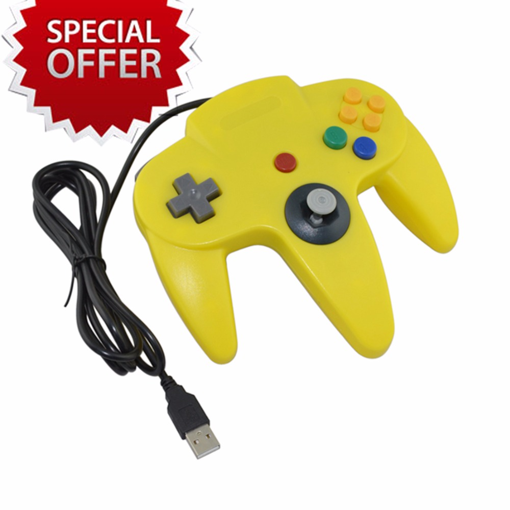 5pcs Computer USB Game Controller for PC Gamepad Joystick  NOT compatible for  N64 64 style