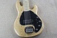 Наивысшего качества ясень 5 строка активный бас для продажи лучшие электрическая бас гитара ясень тело наивысшего качества 15 6 25