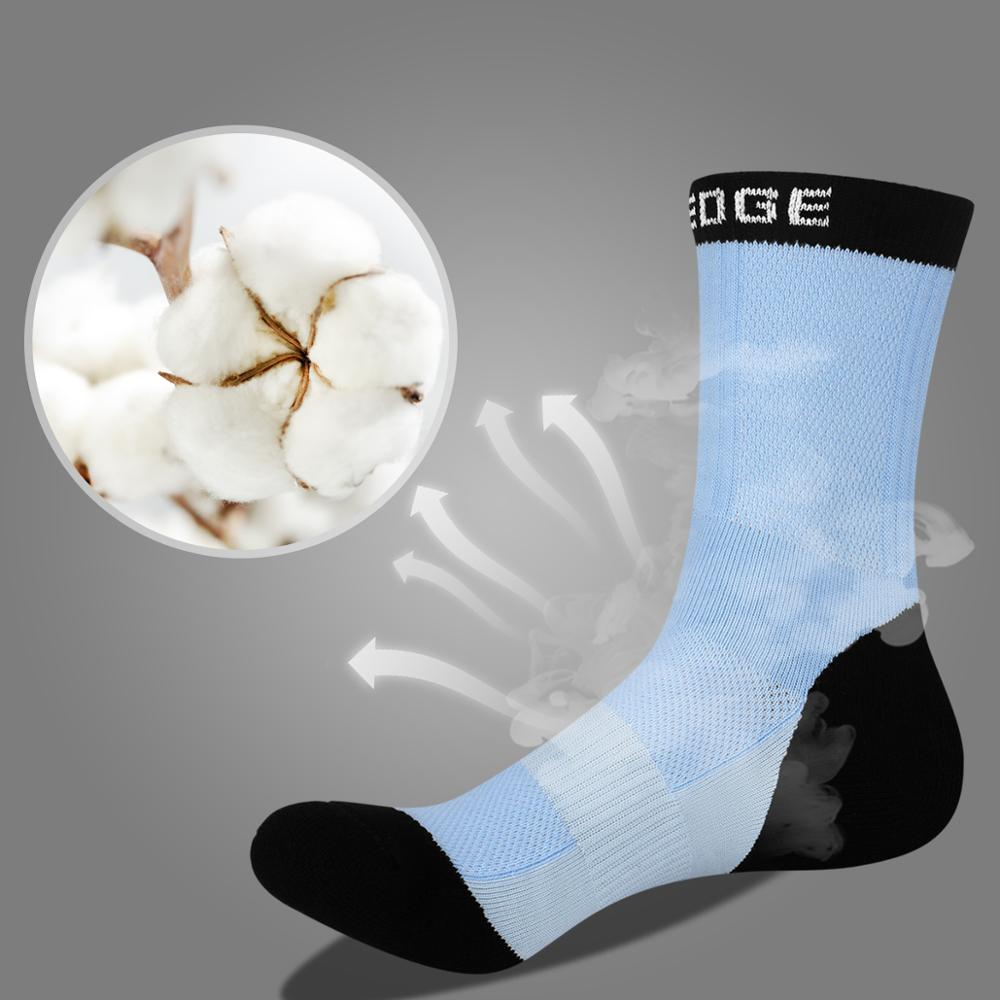 YUEDGE Women 39 s Breathable Cotton Cushion Crew Casual Hiking Socks Ergonomic Fit For Left And Right 5 Pairs Pack in Hiking Socks from Sports amp Entertainment