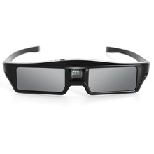 Rechargeable Active Shutter 3D Glasses Glasses 90mAh Battery Support 96HZ/120HZ/144HZ for DLP-Link Projector DROP SHIPPING