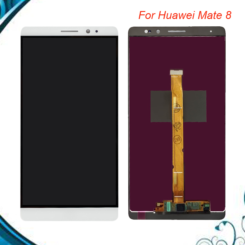 100% Tested OK For Huawei Mate 8 LCD Display+Touch Screen Digitizer Assembly Replacement For Huawei Mate 8 CellPhone