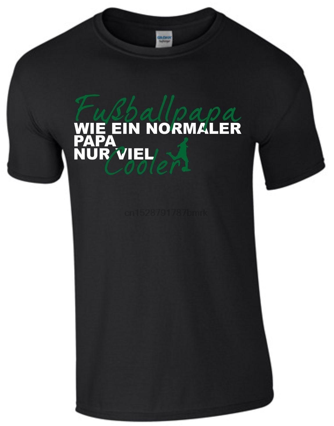 2019 Fashion Hot sale Fubball Papa Vatertag Geschenk Ball Fun Shirt T-Shirt Textildruck Dad Shirt S2 tee shirt