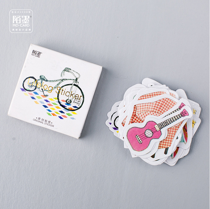 45 Pcs/lot Items Of Life Painting Mini Paper Sticker Decoration DIY Ablum Diary Scrapbooking Label Bullet Journal Stickers