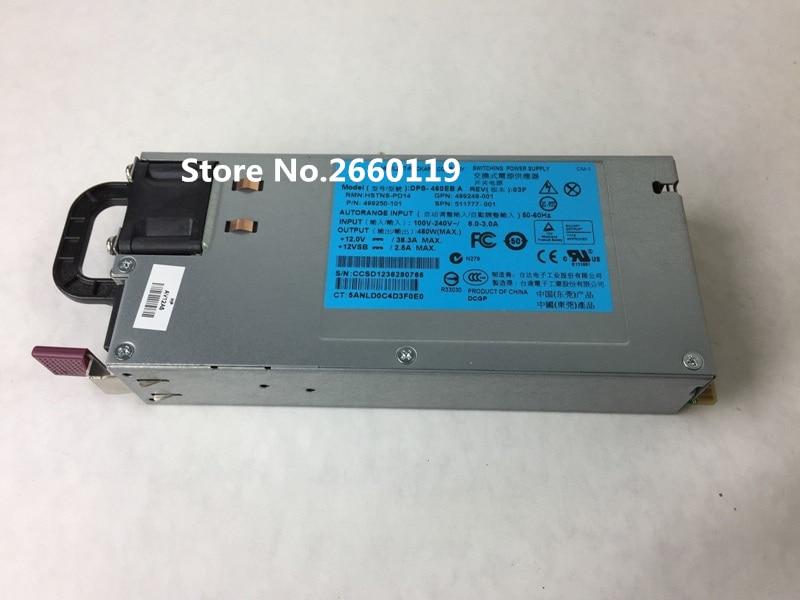 100% Arbeits Für Dl380g6 G7 499249-001 499250-101 Server Netzteil Volle Test Pc Netzteile
