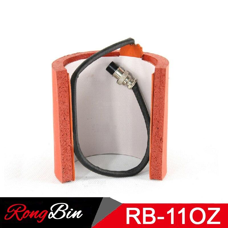 Sublimation Machine Silicone tasse tapis chauffant tasse chaleur presse pièces pour tasses impression presse 7.5-9.5 CM 11 OZ tasses 110 V/220 V
