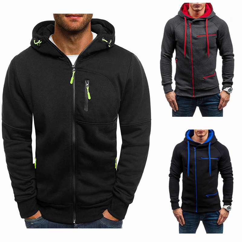 Hoodies Men 2018 Fashion Hoodies Brand Men Personality Zipper Sweatshirt Male Hoody Tracksuit Hip Hop Autumn Winter Hoodie Men-in Hoodies & Sweatshirts from Men's Clothing & Accessories on Aliexpress.com | Alibaba Group
