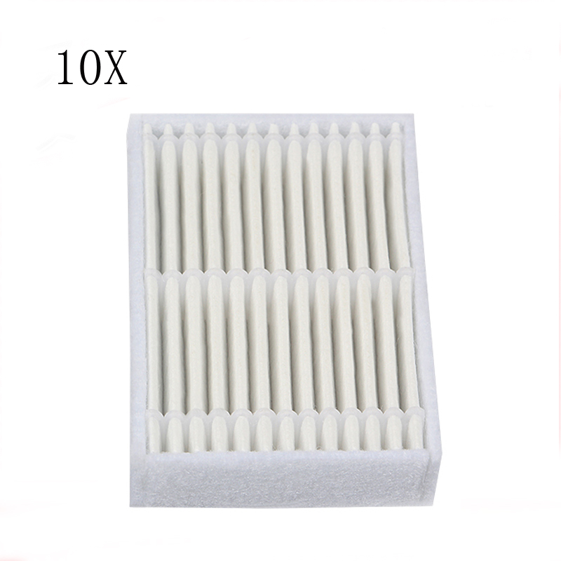 Mmfc-6pcs Replacement Hepa Filter For Panda X600 Pet Kitfort Kt504 For Robotic Robot Vacuum Cleaner Accessories Home Appliance Parts