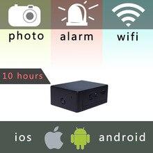 ZN62 мини-аккумулятор Портативный Камера P2P Беспроводной Wi-Fi видеомагнитофон для IOS iPhone Android телефон приложение удаленного просмотра