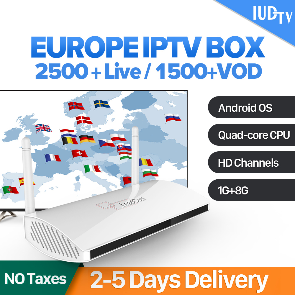 Leadcool IPTV Sweden Android Box Rk3229 Quad-Core Leadcool TV box IUDTV IPTV Subscription IPTV Sweden UK Italy Germany Spain sweden