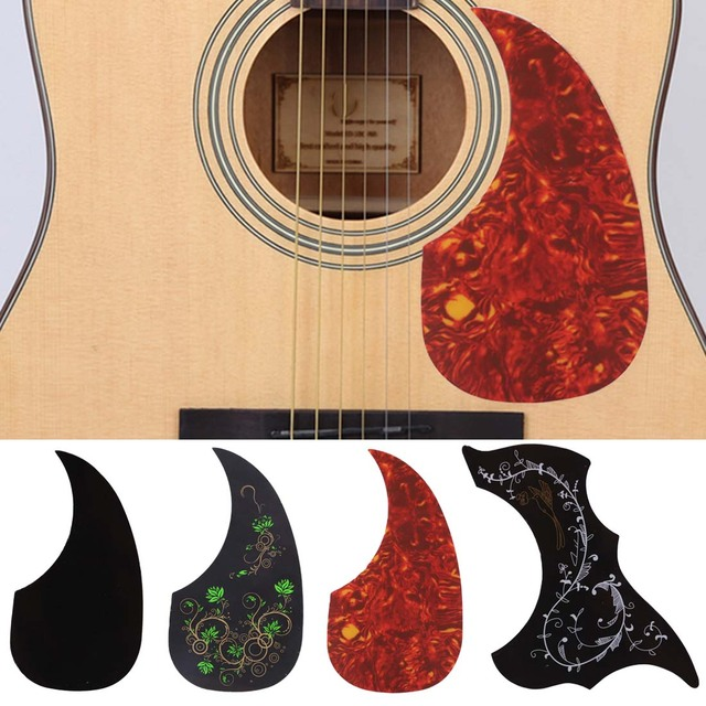 1 PC Professional Folk Acoustic Guitar Pickguard Self-adhesive Pick Guard Sticker for Acoustic Guitar Accessories