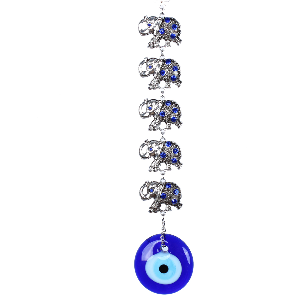 Party Supplies Turkish Blue Evil Eye Elephant Spiral Circle