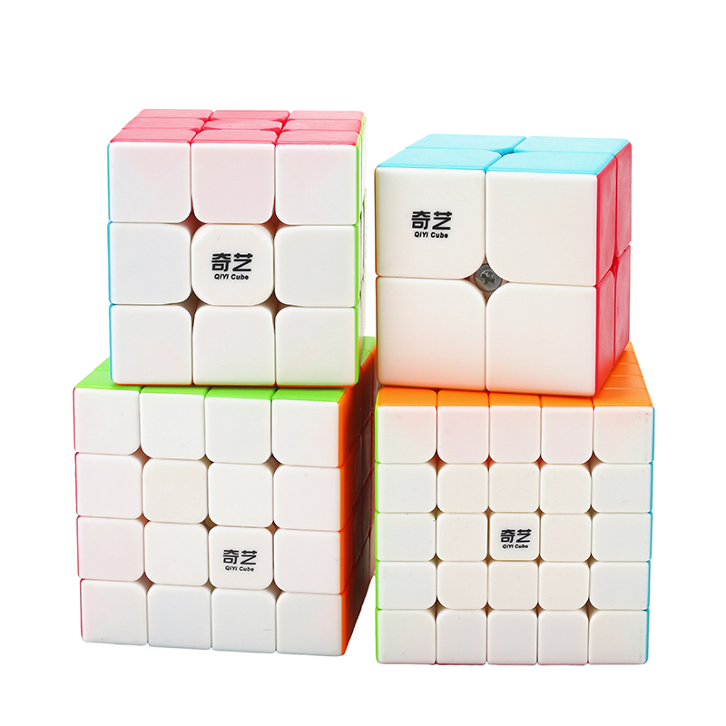 Qiyi qiyuan magic cube 2x2x2 3x3x3 5x5x5 megaminx pyramid speed cube toys for children Puzzle Speed Cube kids toys Solid велосипед cube stereo 160 hpa race 27 5 2015