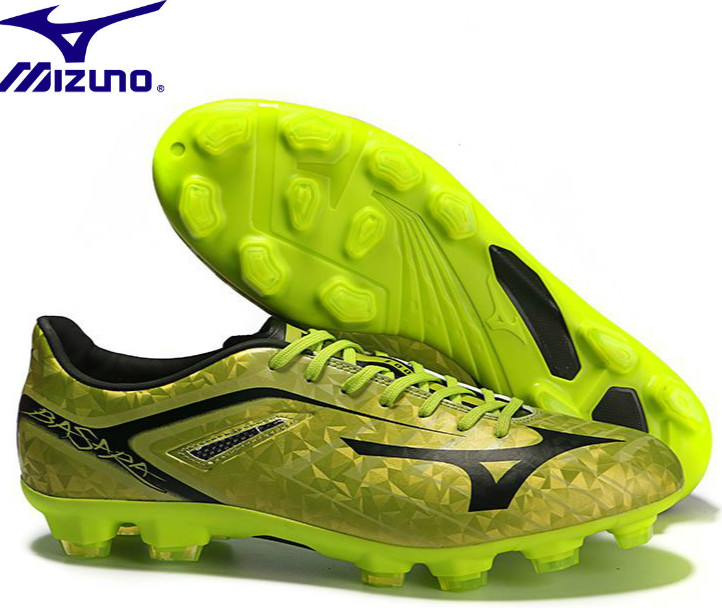 best website b4d57 92600 US $56.1 49% OFF|Mizuno Morelia Neo Mix Mizuno Wave Ignitus 4MD Basara FG  Soccer Spikes Men Running shoes Gold Weightlifting Shoes Size 40 45 -in ...