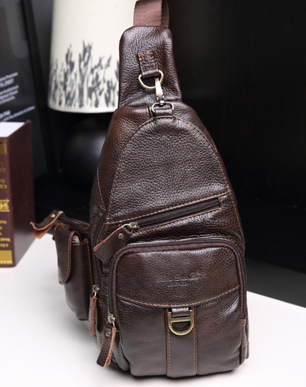 Lëkurë origjinale prej lëkure origjinale për burra Luksoze - Çanta dore - Foto 1