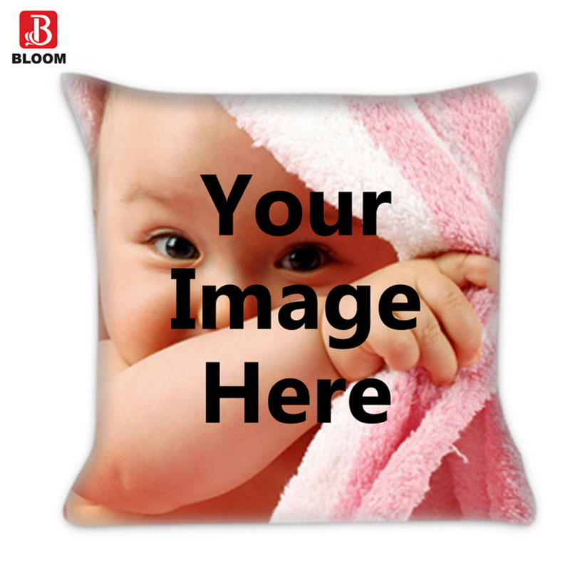 DIY Image photo Print Pillowcase,One Side Picture,Customized Cushion Cover,Home Decorative Square Throw Pillow case Decorate