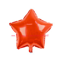 Lucky 50pcs/lot 18 inch Colorful Star Shaped Balloon Children Birthday Party Wedding Decoration Globos Foil Balloons Supplies