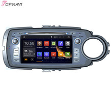 """7"""" Quad Core Android 5.1 Car GPS For TOYOTA YARIS RHD 2011- With DVD Radio Stereo Navi 16Gb Flash Mirror Link Free Shipping"""