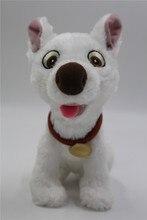 New Bolt Dog Sitting 7.5″ White Plush Stuffed Puppy Doll Toy Cute