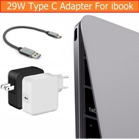 US AU EU Plug USB C 3 1 29W Power Adapter Wall Charger For Apple Ibook