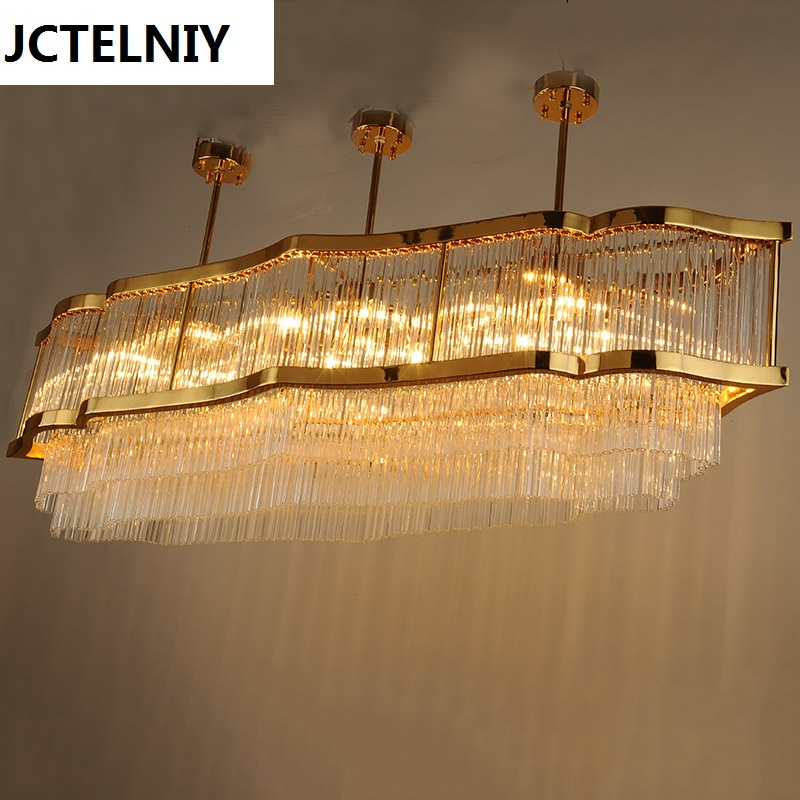 Living room crystal lamp  modern lamp luxury gold fashion crystal pendant light a1 master bedroom living room lamp crystal pendant lights dining room lamp european style dual use fashion pendant lamps